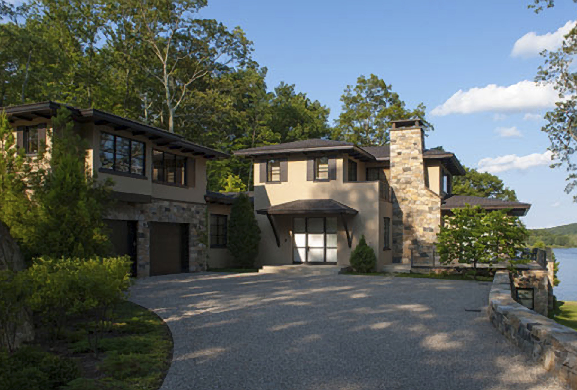 Churchill Building Company · Lakefront Retreat